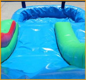 14' Inflatable Tropical Island Water Slide