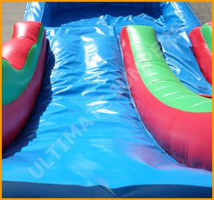 14' Inflatable Tropical Water Slide