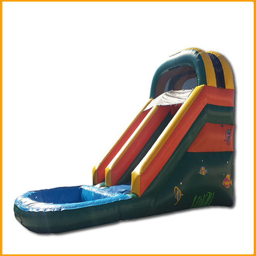 14' Under the Sea Front Load Water Slide