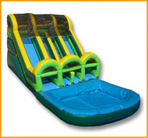15' Double Loader Water Slide