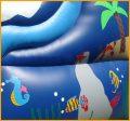 16' Front Load Wavy Water Slide