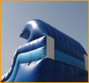 17' Ocean Wave Water Slide