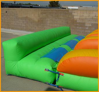 18' Back Load Triple Lane Wet and Dry Slide18' Back Load Triple Lane Wet and Dry Slide