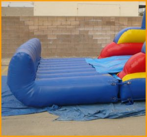 18' Back Load Wet and Dry Water Slide