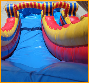 18' Inflatable Wet and Dry Water Slide