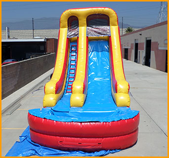 18' Wet and Dry Water Slide