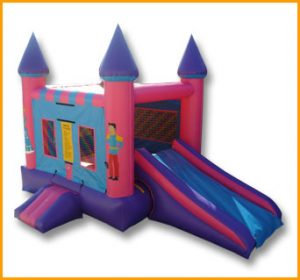 2 in 1 Mini Princess Castle Combo