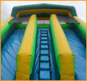 20' Front Load Double Lane Slide