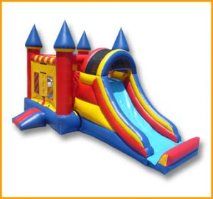3 in 1 Castle Combo Bouncer