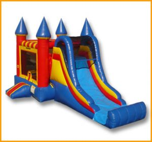 3 in 1 Castle Slide Combo