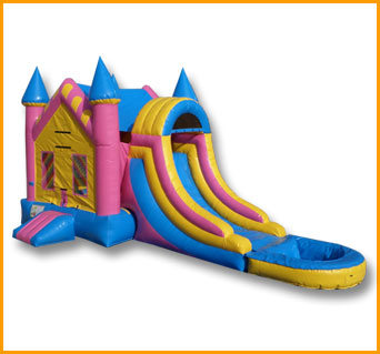 3 in 1 A Shape Wet Dry Castle Module Combo
