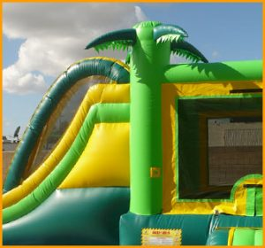 3 in 1 Tropical Jumper Slide Combo