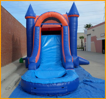 3 in 1 Wet Dry Castle Inflatable Combo3 in 1 Wet Dry Castle Inflatable Combo