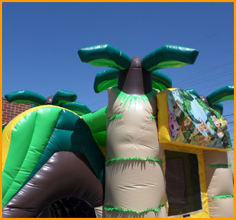 3 In 1 Wet And Dry Inflatable Jungle Combo C085 Ultimate
