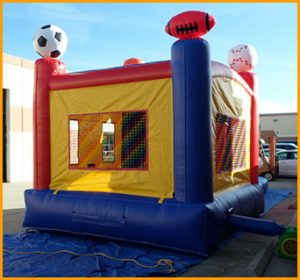 3 in 1 Wet Dry Inflatable Sports Combo