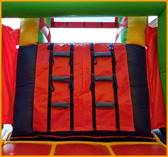 3 in 1 Wet Dry Multicolor Castle Slide Combo
