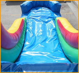 3 in 1 Wet Dry Multicolor Castle Slide Combo