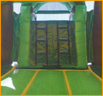 3 in 1 Wet Dry Tropical Bouncer Slide Combo