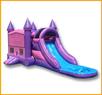 3 in 1 Wet/Dry Pink Purple Castle Module Combo