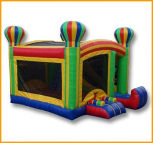4 in 1 Balloon Adventures Bouncer Combo
