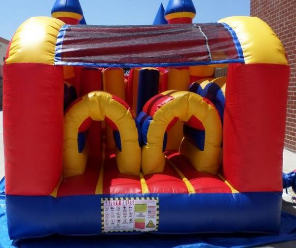 50' Castle Module Wet/Dry Obstacle Course