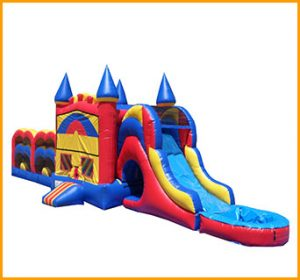 50' Castle Module Wet/Dry Obstacle Course