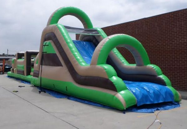 64' Inflatable Obstacle Course