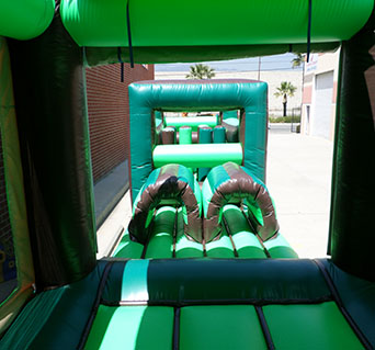 65' Tropical Jungle Obstacle Course