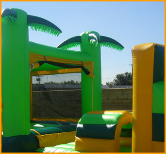 65' Tropical Obstacle Course