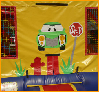 Car Racer Bouncer