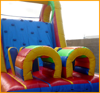 Climber Obstacle Slide
