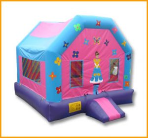 Dollhouse Inflatable Bouncer