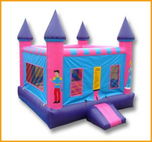 Flat Roof Princess Castle Jumper