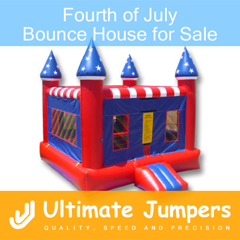 Fourth of July Bounce House for Sale