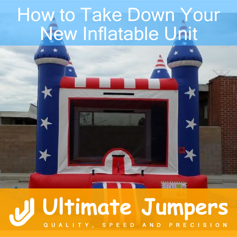 How to Take Down Your New Inflatable Unit
