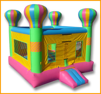 Indoor Adventure Balloon Bouncer