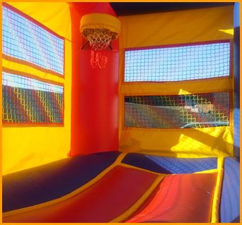 Indoor Basketball Arena