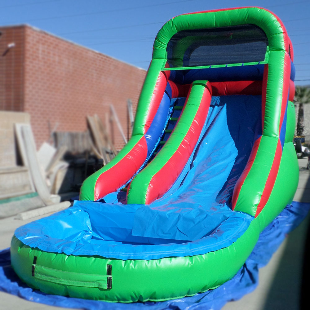 Inflatable 14 Foot Front Load Water Slide W116 - Ultimate ...