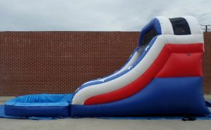 Inflatable 14' Red White and Blue Splash