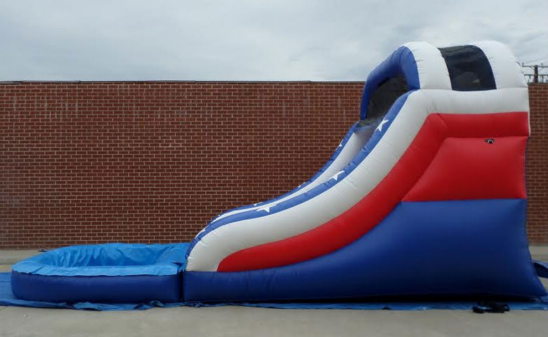 Inflatable 14 Red White And Blue Splash W106 Ultimate