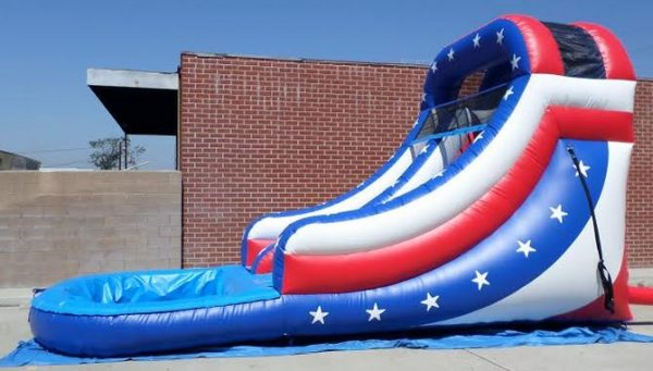 Inflatable 14' Star Spangled Splash