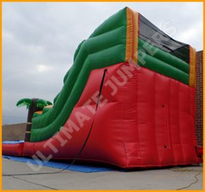 Inflatable 14' Tropical Water Slide