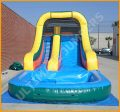 Inflatable 14' Wet and Dry Slide