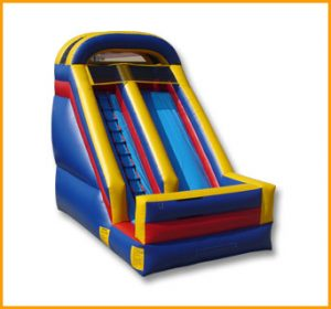 Inflatable 16' Single Lane Slide