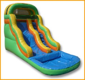 Inflatable 16' Wavy Water Slide