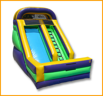 Inflatable 18' Front Load Single Lane Slide