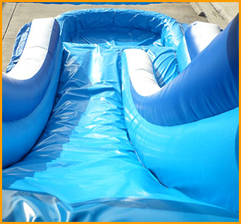 Inflatable 18' Front Load Water Slide