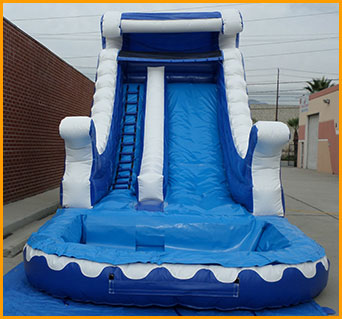 Inflatable 18' Ocean Wave Water Slide