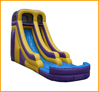 Inflatable 18' Wet and Dry Slide