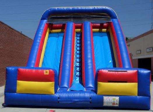 Inflatable 20' Double Lane Slide